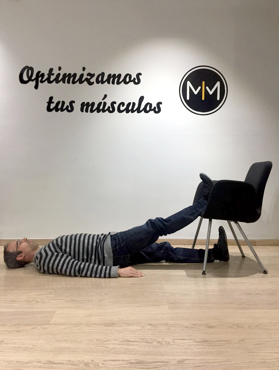 ejercicio cadera flexion optimmus