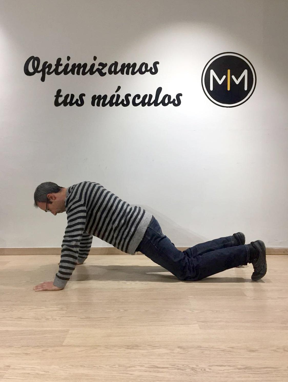 flexiones brazos optimmus