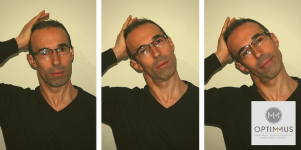 flexion cuello lateral optimmus